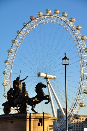 London eye Stock Photo - 18329386