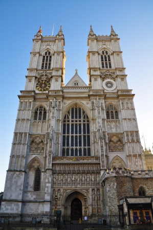 The Westminster Abbey church in London, UK Editorial