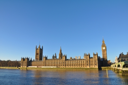 Parliament and Big Ben in London, UK Stock Photo - 18397333