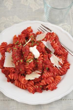 beetroot: beetroot pasta