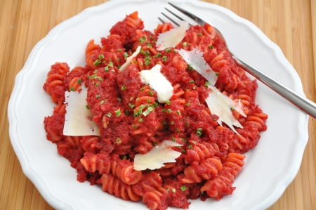 beetroot pasta photo