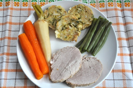Bavarian roast pork photo