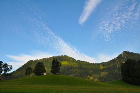 migrate: Mountains in Styria at Marziazell, Austria