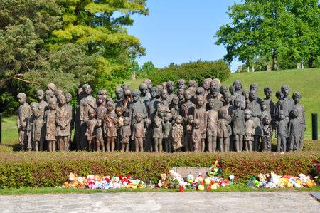 send to prison: Memorial to Lidice, Czech Republic
