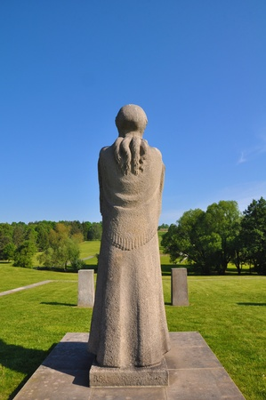 Memorial to Lidice, Czech Republic photo