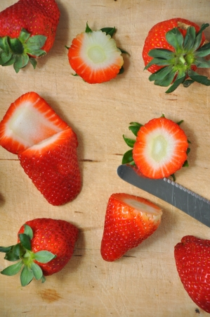Fresh strawberries Stock Photo - 18969184