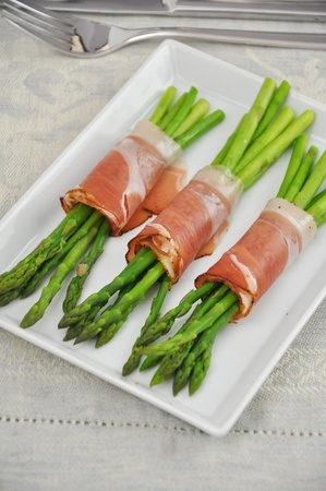 Asparagus with Ham photo