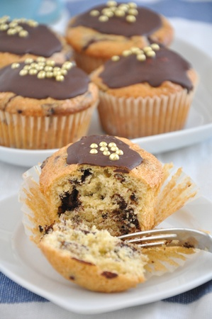 Chocolate Chip Muffins photo