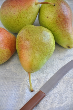 Ripe pear photo