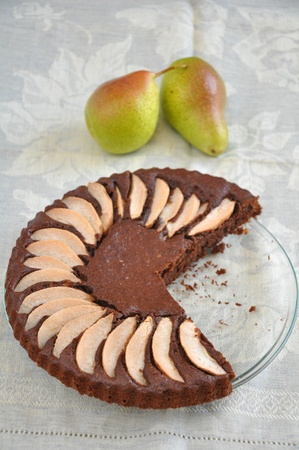 Chocolate Pear Cake photo