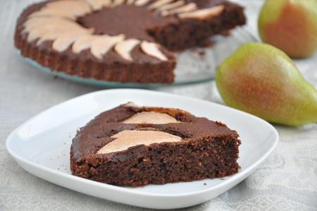 Chocolate Pear Cake photo