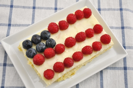 4th of July Berry Cake Stock Photo - 19242014