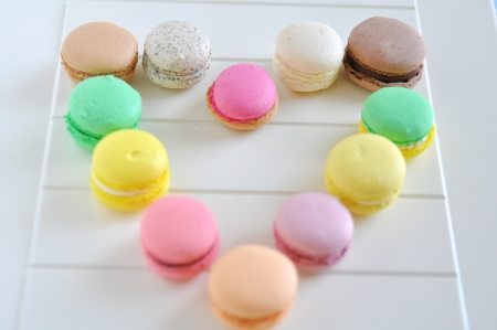 Macarons Stock Photo