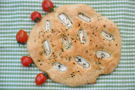 italian focaccia Stock Photo - 19333384