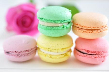 Macarons 版權商用圖片