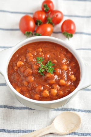 Italian Tomato Soup with beans