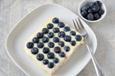 Blueberry Vanilla Cake photo
