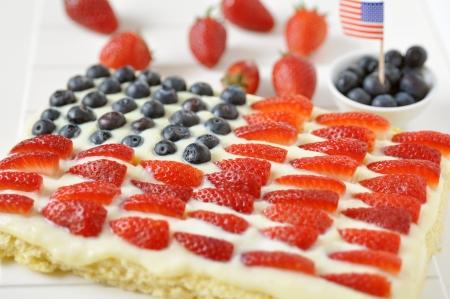trozo de pastel: 04 de julio Berry Cake