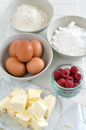 Ingredientes para la preparaci�n de la torta photo