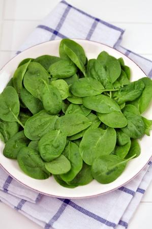 Fresh Spinach Salad photo