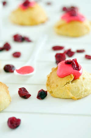 Cookies with Cranberries photo