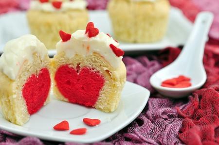 Valentines Cupcakes Stock Photo - 19712635