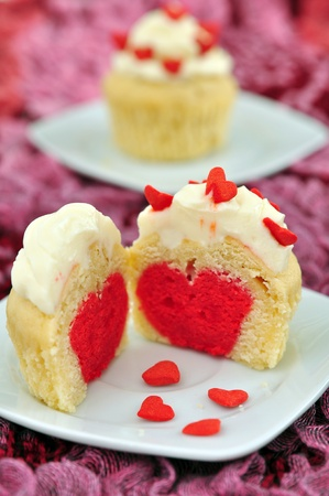 Valentines Cupcakes Stock Photo - 19712611
