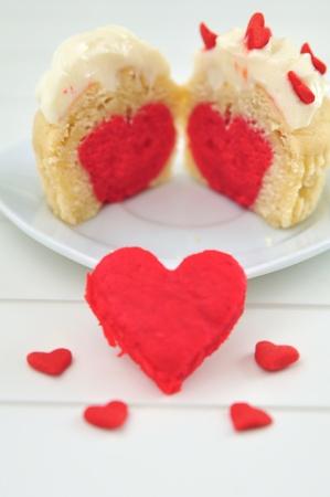 Valentines Cupcakes Stock Photo - 19712554