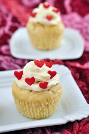 Valentines Cupcakes Stock Photo - 19712605