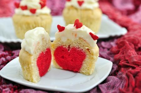 Valentines Cupcakes Stock Photo - 19712633
