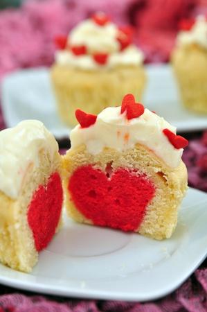 Valentines Cupcakes Stock Photo - 19712602