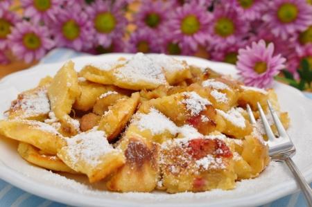 Kaiserschmarrn, Austrian and bavarian dessert speciality