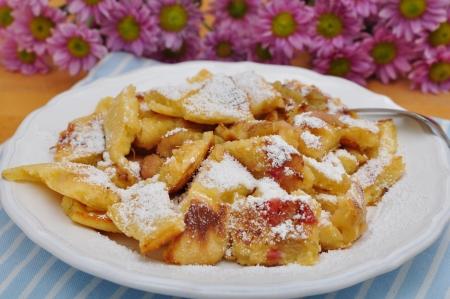 speciality: Kaiserschmarrn, Austrian and bavarian dessert speciality