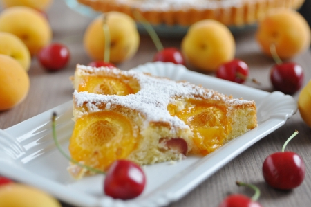 Apricot and Cherry Cake photo