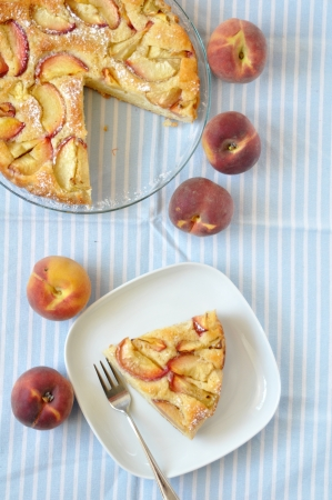 German Apricot pie photo