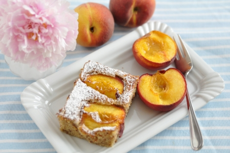 Peach Almond Pie photo