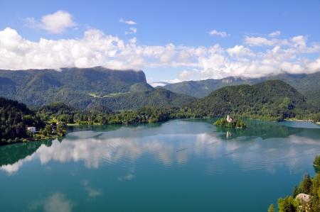 bled: Bled Lake in Slovenia