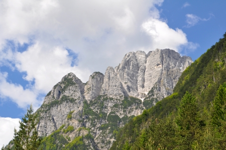 Julian Alps in Slovenia photo