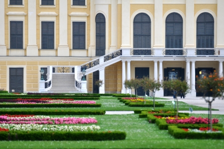 schonbrunn palace: Schloss Schonbrunn, Castle in Vienna Editorial
