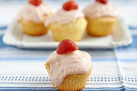 Strawberry Cupcakes photo