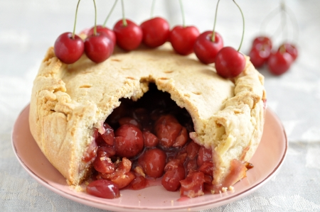 Americano Cherry Pie photo