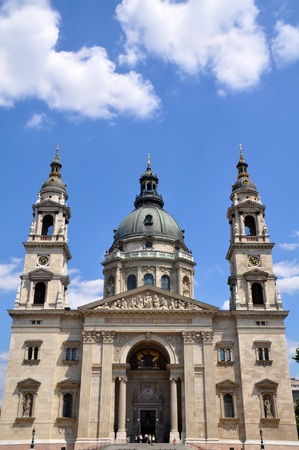 saint stephen cathedral: St  Stephans Basilica in Budapest, Hungary Stock Photo