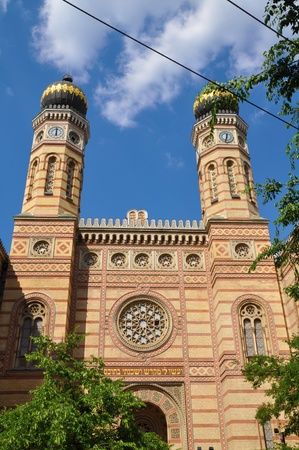 synagoge: Great Synagoge in Budapest, Hungary Stock Photo