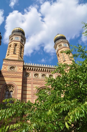 Great Synagoge in Budapest, Hungary photo