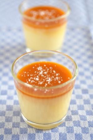 sel: Caramel Pudding, Creme Caramel with fleur de sal