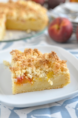 Peach Coconut Cake photo