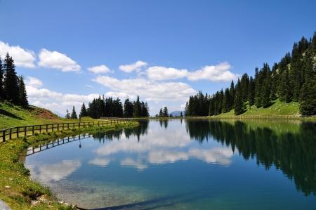 Mountain Lake in Austria photo