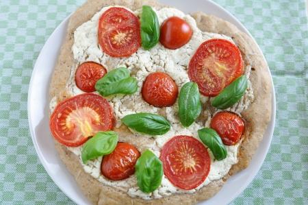 Pizza Caprese photo