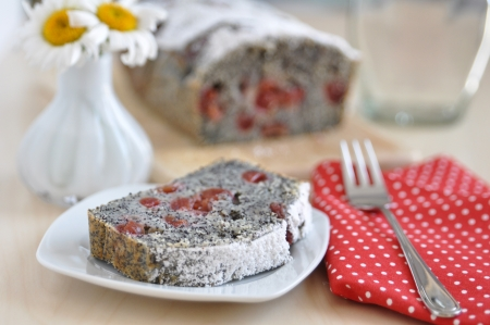 Poppy Seed Cherry Pie photo
