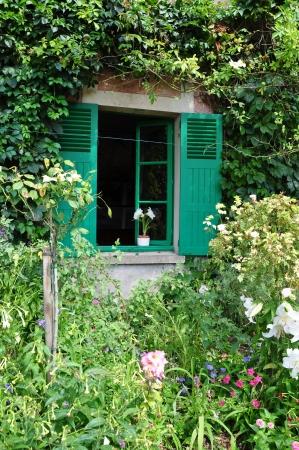 monet: Casa de Claude Monet en Giverny, Francia